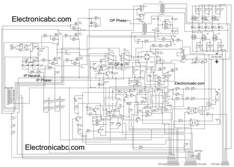 Homage Inverex Ups Schematic Diagram Complete Electronic