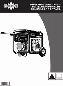 Briggs  U0026 Stratton Portable Generator 01933