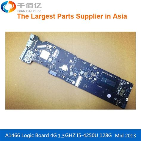 laptop motherboard a1466 logic board for macbook air 1 3 ghz 820 3437 a emc2632 i5 5650u 4g 2013