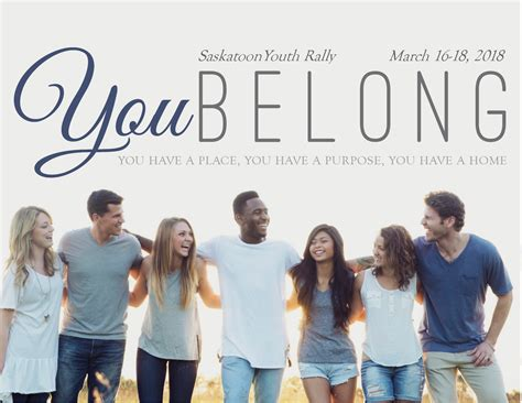 You Belong Youth Rally Mansask Adventist Youth