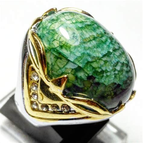 Batu Cincin Sisik Naga jual cincin batu akik anggur sisik naga chalcedony di