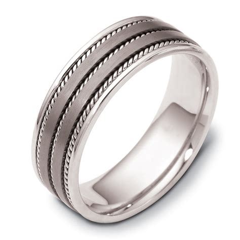 mens cable band  seattle bellevue joseph jewelry
