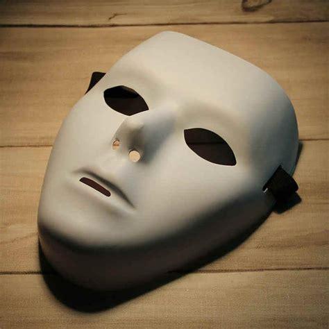 blank mask jabbawockeez hip hop white masque venetian