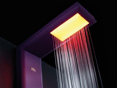 colonna doccia cromoterapia colonna doccia multifunzione in acciaio per cromoterapia