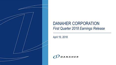 Danaher (DHR) Presents At Jefferies 2018 Global Healthcare ...