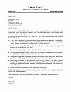 best cover letter examples for teachers writing resume With cover letter for science teacher position