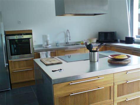 inox pour cuisine inox pour cuisine table de prparation en acier inox pour