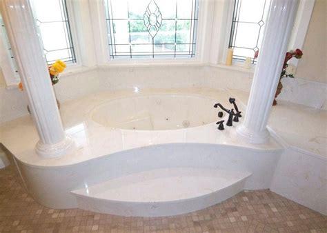 Cultured Marble Bathtub Wall Surround Bathtub