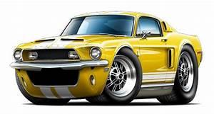 Ford mustang garage decor