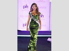 Miss Afrique du Sud DemiLeigh NelPeters lors du 66e