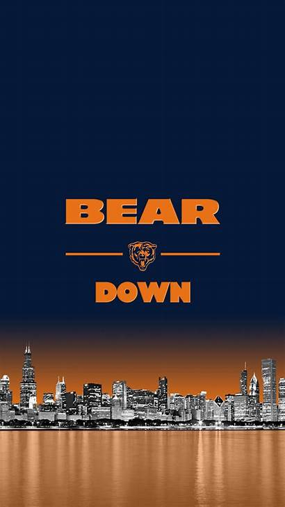 Bears Chicago Iphone Skyline Background Resolution Wallpapers