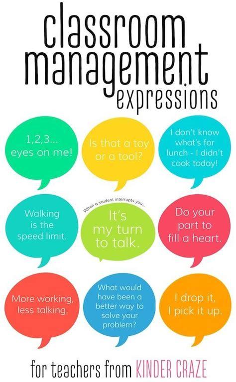 classroom management phrases  teachers february