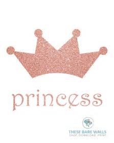 Gold Princess Crown Template