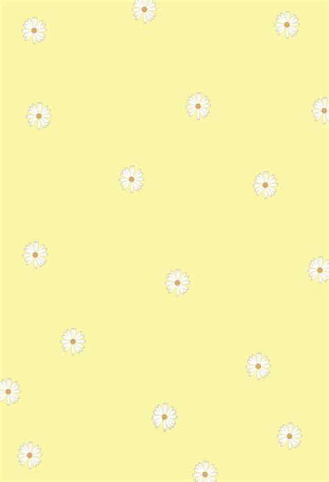 aesthetic kawaii yellow wallpapers