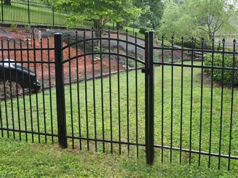 metal fencing costs aluminum fencing cost bryant fence company