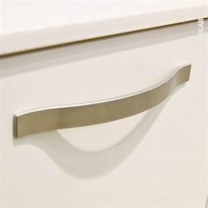 poignee de meuble salle de bains n8 alu mat 21 cm entraxe With poignée meuble de salle de bain