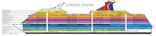 carnival cruise valor ship deck plan pinterest punchaos com