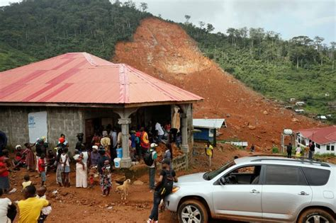 Guinea Says 19 Bodies Washed Up After Sierra Leone Mudslide
