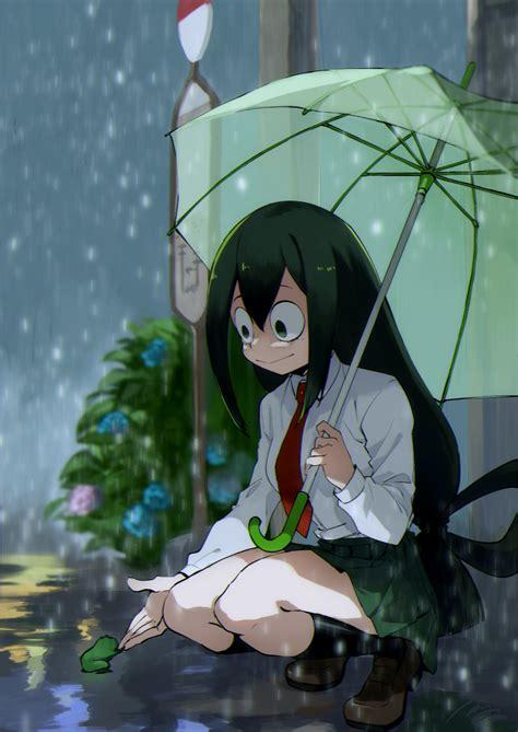 asui tsuyu boku  hero academia zerochan anime image