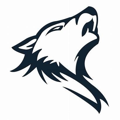 Wolf Transparent Clipart Outline Lone Arctic Clip