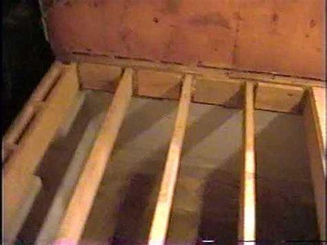 DIY 12   Subfloor & wall framing   YouTube