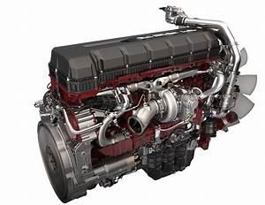 Mp8 Semi Truck Engine