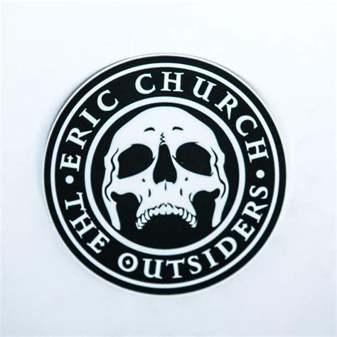 eric church fan club the outsiders sticker eric church