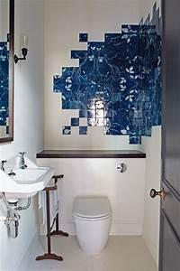 Unusual blue bathroom tiles bathroom design ideas for Weird bathrooms