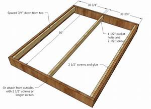 Ana White Chestwick Platform Bed - Queen Size - DIY Projects