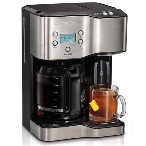 hot to use coffee maker hamilton beach 12 cup coffee maker hot water dispenser