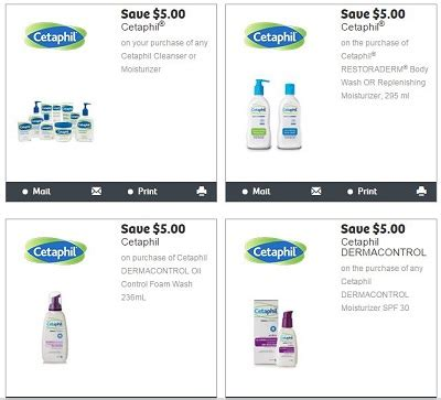 51366 Cetaphil Dermacontrol Foam Wash Coupon by New Mail Coupons Save 5 00 Cetaphil Products