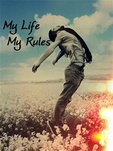 Download My Life Rules V5 Wallpaper 240x320