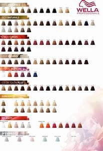 Color Fresh Color Chart Wella Professionals Color Touch Color Chart 2017 Wella