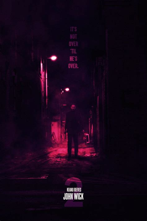 john wick chapter  concept poster  sg posters