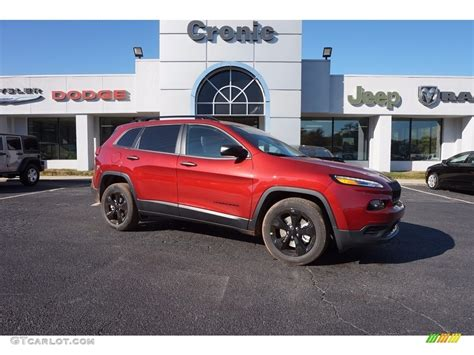 red jeep 2017 2017 deep cherry red crystal pearl jeep cherokee sport