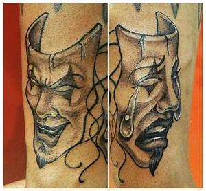 43 best Tattoo theater mask images on Pinterest | Drama ...