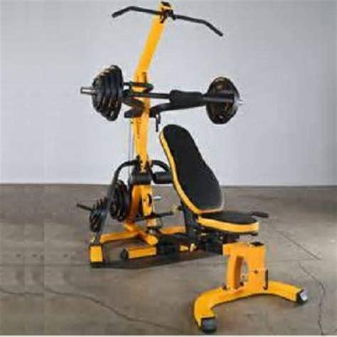 powertec workbench leverage system  weight home gym wb