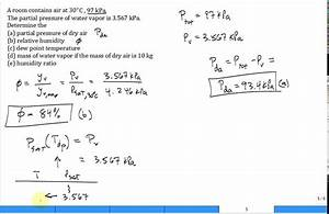 Calc Moist Air Properties  Solve Problem