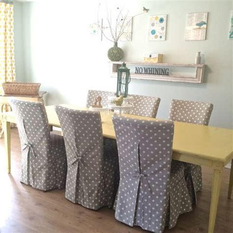 chair slipcovers ideas  pinterest dining room