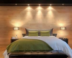 leclairage ideale pour une chambre a coucher With eclairage chambre a coucher