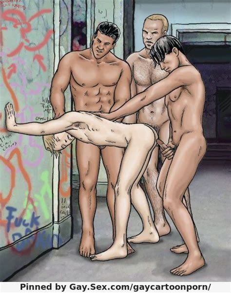 hard gay adult comics twink fucked by rough