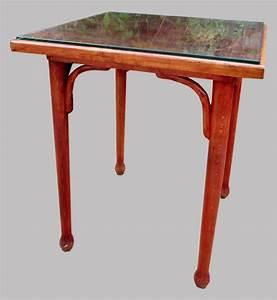 Table Bistrot Ancienne : fischel table de bistrot ancienne en bois courb plateau carr ~ Melissatoandfro.com Idées de Décoration
