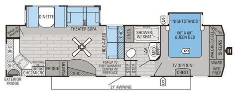 Jayco 5th Wheel Hauler Floor Plans by 2016 Eagle Fifth Wheel Floorplans Prices Jayco Inc