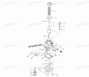Polaris Atv 2001 Oem Parts Diagram For Carburetor