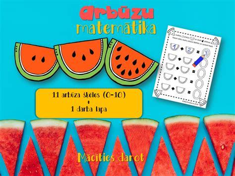 Arbūzu matemātika — Mācīties darot