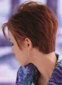 Women Short Haircuts Back View
