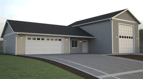 tri level floor plans custom garage layouts true built home pacific