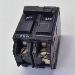 Ge Thql21125 2 Pole 125amp 120  240v Circuit Breaker Type