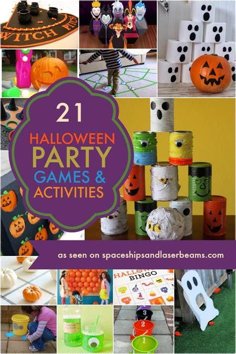21 ideas amp activities spaceships 826   halloween party games activities
