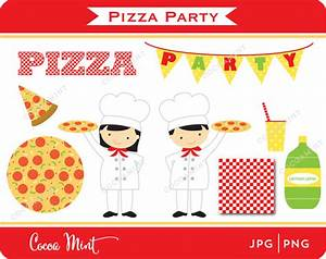 Pizza Party Clip Art